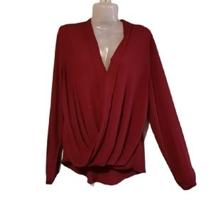 Atmosphere Wrap blouse  size 10